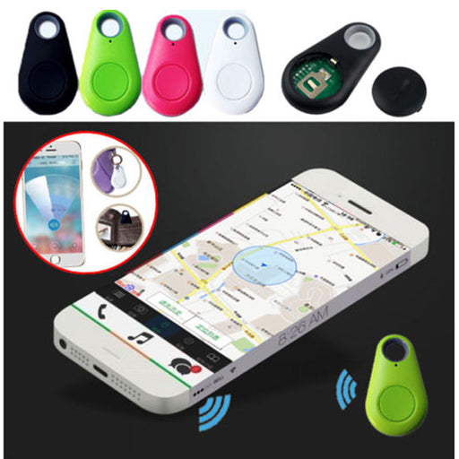 5pcs Smart Wireless Key Finder Bluetooth Tracker GPS Locator Alarm Mini Tag Anti Lost Itag For Phone Wallet Pet Dog Keychain - Ahhroma