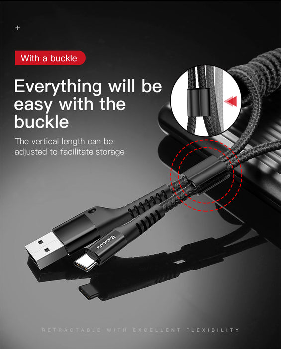 Spring USB Type C Cable - Ahhroma