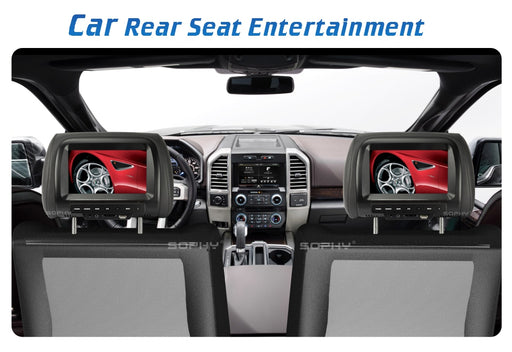 Universal 7 inch Car Headrest Monitor - Ahhroma