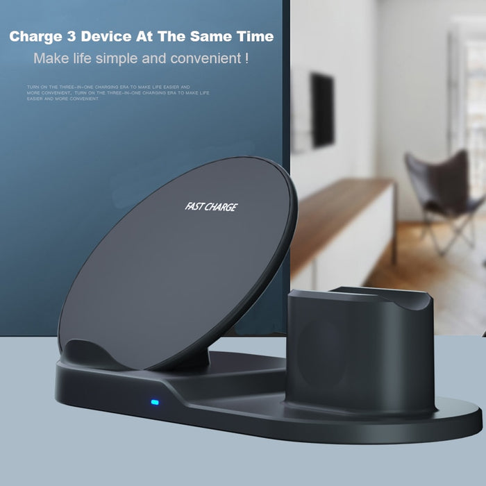 3 In 1 Fast Wireless Charger - Ahhroma