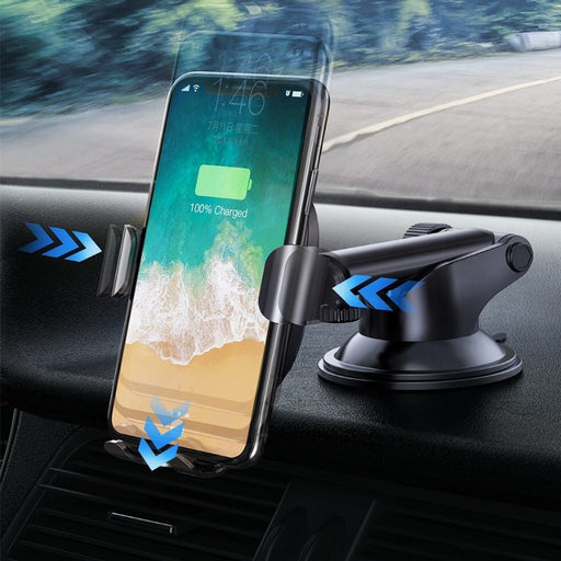 2 in1 Wireless Car Charger - Ahhroma