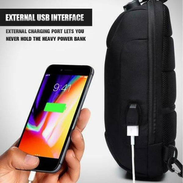 Anti-theft Backpack With 3-Digit Lock - Ahhroma