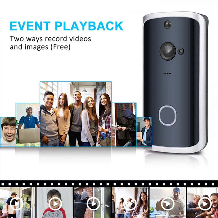 Smart WiFi Video Doorbell Camera - Ahhroma