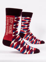 Sweary Socks Enter at Own Risk - Men's