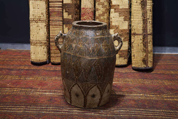 Antique Moroccan Pot at a gallery