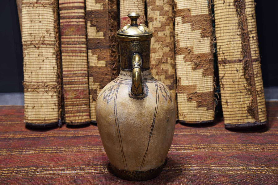 Moroccan Antique Pot from the side