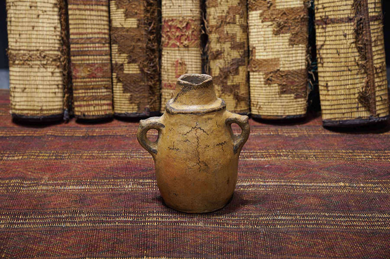 Moroccan Antique Pot at an art gallery