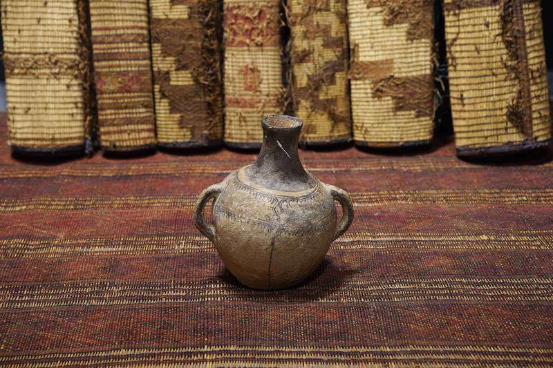 Moroccan Pot at an art gallery