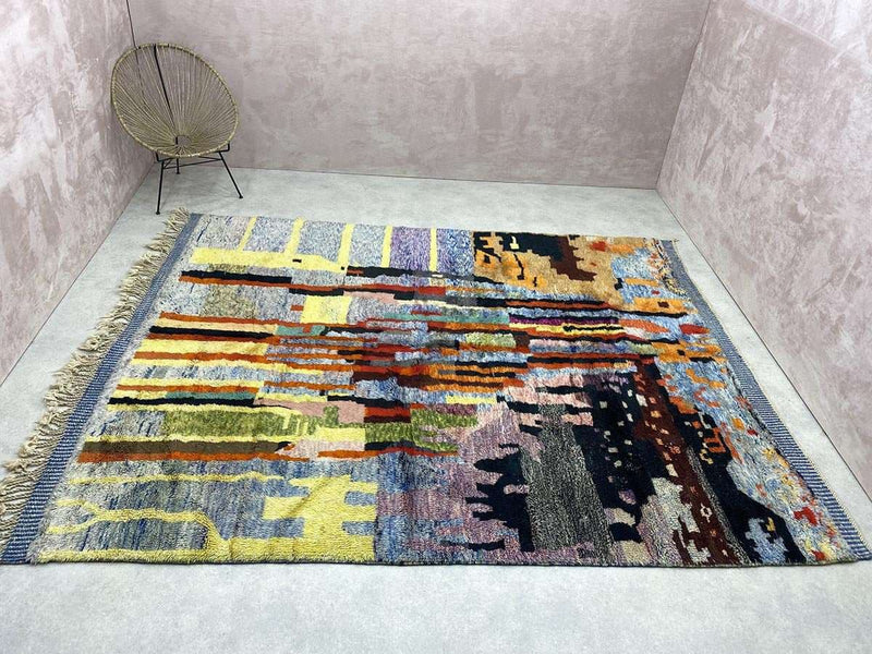 Luxury Beni Mrirt Rug - Opaque
