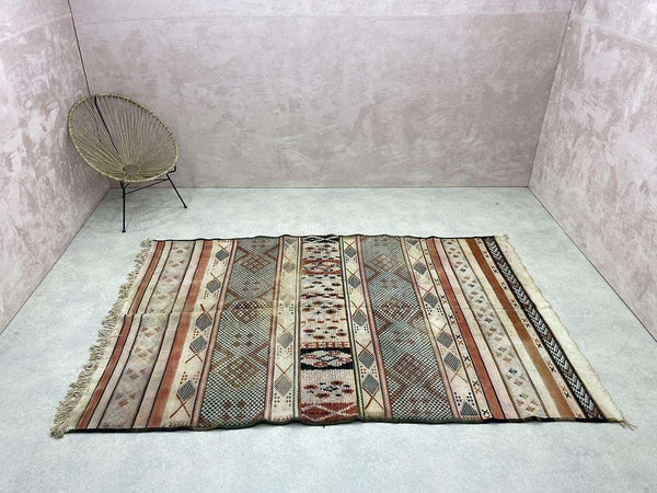 Exclusive Vintage Rugs - Niemat - 9.12 x 5.83 ft / 2,78 x 1,78 m