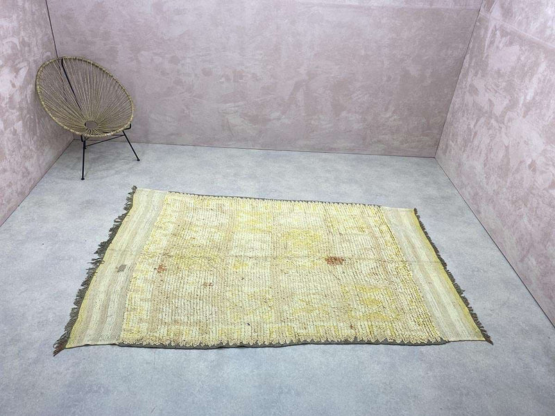 Exclusive Vintage Rugs - Anays - 8.26 x 4.98 ft / 2.52 x 1.52 m
