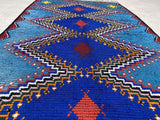 Exclusive Vintage Rugs - Melmuse - 5.38 x 2.85 ft / 1.64 x 0.87 m