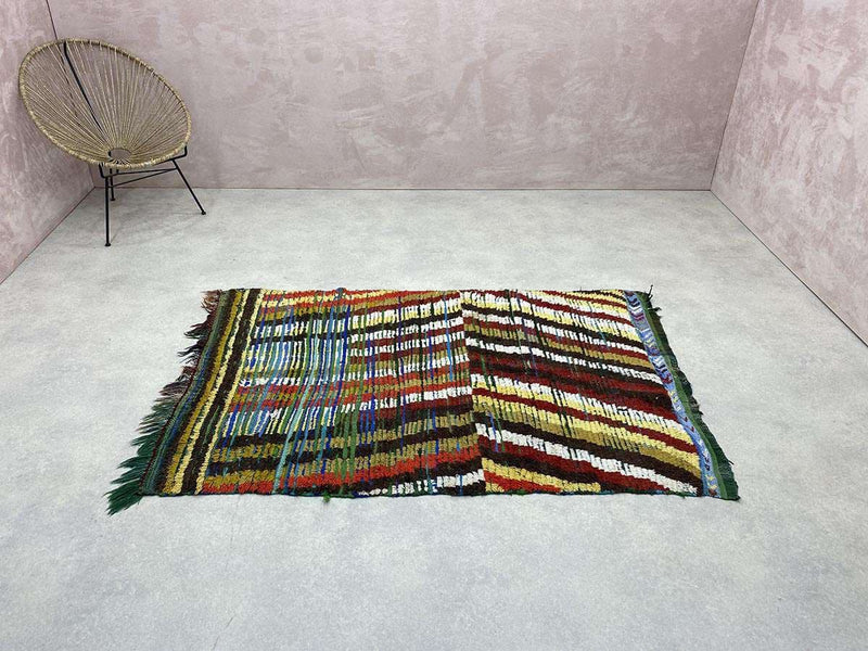 Exclusive Vintage Rugs - Salina - 6.43 x 4.06 ft / 1.96 x 1.24 m