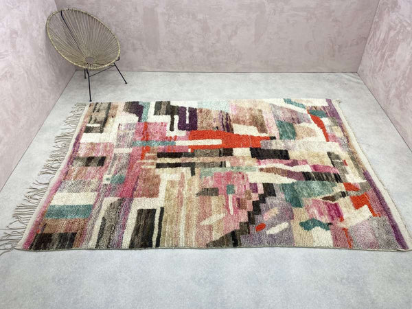Boujad Rug - Dangy - 3.28 x 4.85 ft / 1.00 x 1.48 m
