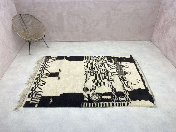 Boujad Rug - Athaes - 6.20 x 9.12 ft / 1.89 x 2.78 m