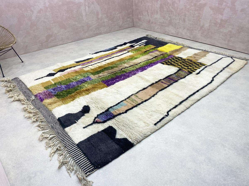 Tapis Beni Mrirt - Endless - 6.72 x 10.56 ft / 2.05 x 3.22 m