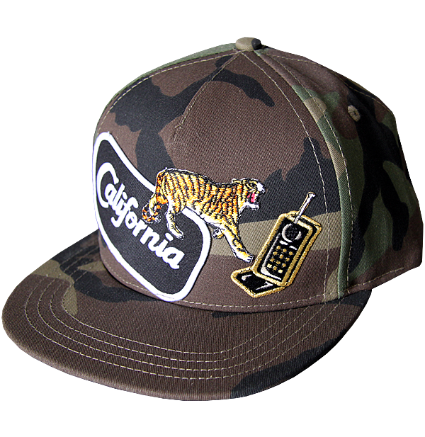 Cali Tiger Phone Cap