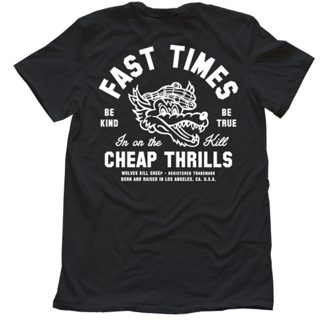 Fast Times Graphic Tee - Wolves Kill Sheep®  - 1
