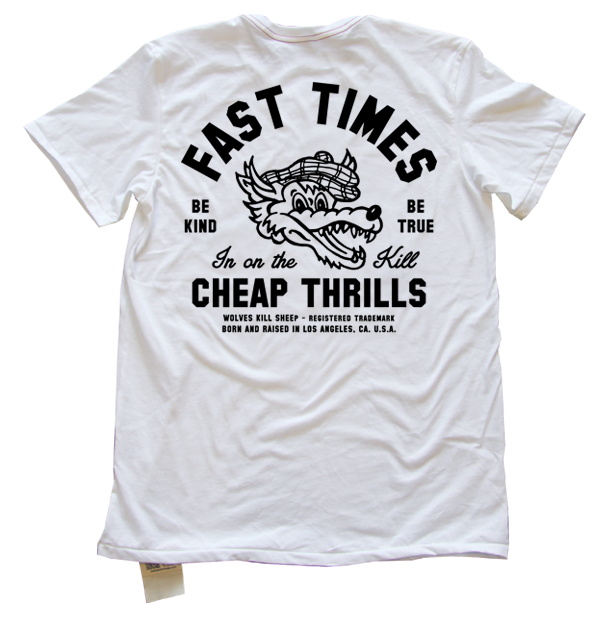 Fast Times Graphic Tee - Wolves Kill Sheep®  - 3