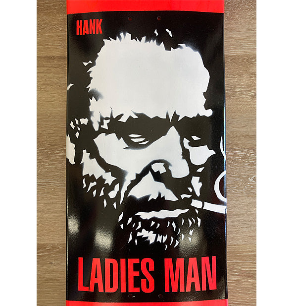 "Ladies Man ""Hank"" Skateboard Deck"