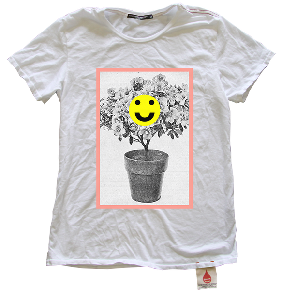 Wolves Kill Sheep Tyler Spangler Happy Plant Tee