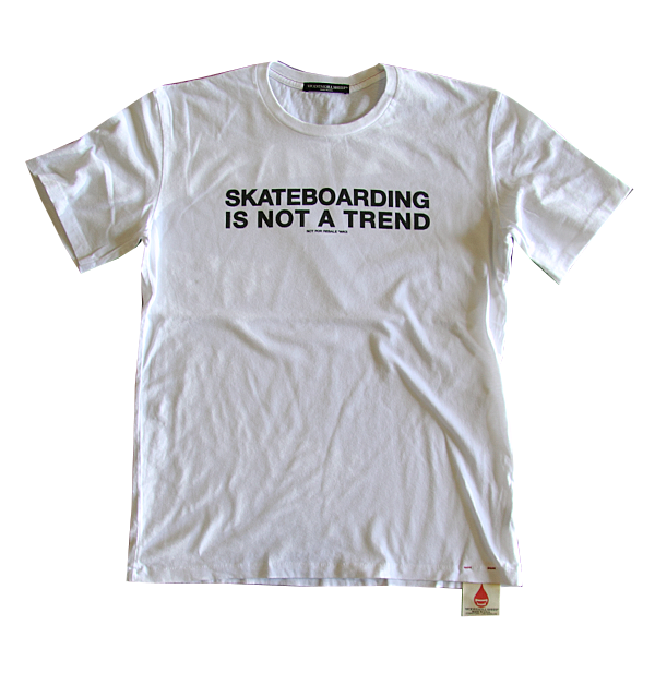 Skateboarding is not a Trend Tee