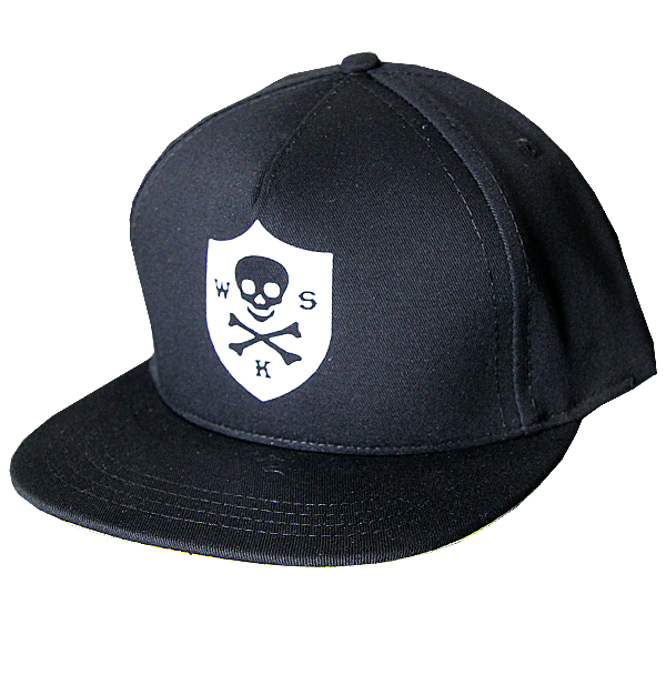 Wolves Kill Sheep : Skull Badge Cap