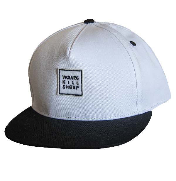 Mesh Panel Mix White/Black Cap