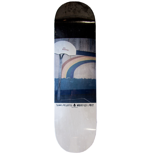 Dennis McGrath x Wolves Kill Sheep Skateboard Deck - Wolves Kill Sheep®  - 1