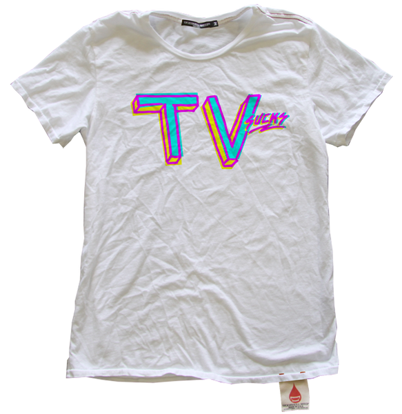 TV Sucks Tee