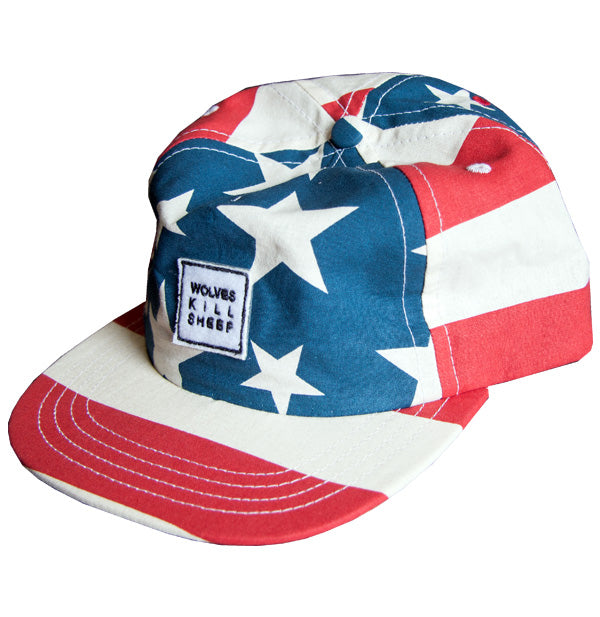 Wolves Kill Sheep : USA Flag Cap