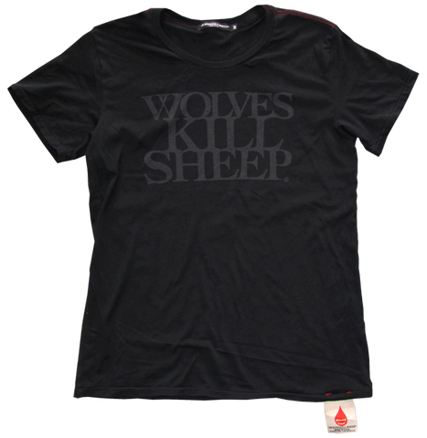Wolves Kill Sheep : Stacked Logo Ghost Print - Wolves Kill Sheep®  - 1