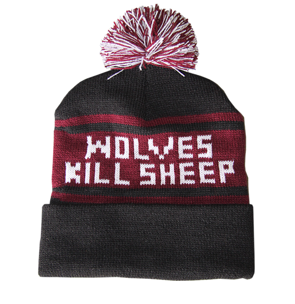 Wolves Kill Sheep : Woven WKS Beanie - Wolves Kill Sheep®  - 1