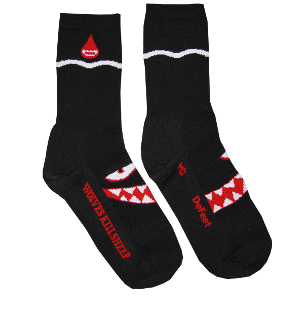 Wolves Kill Sheep Socks - Wolves Kill Sheep®  - 3