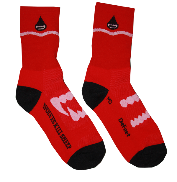 Wolves Kill Sheep Socks - Wolves Kill Sheep®  - 2
