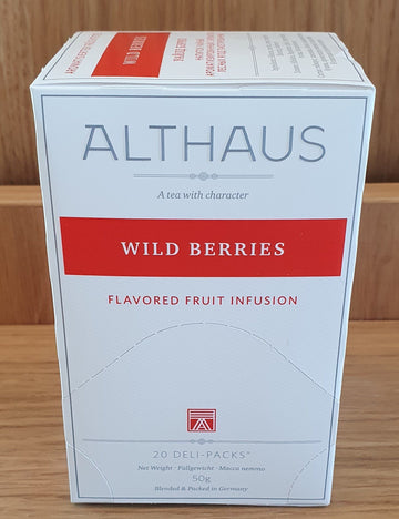 Althaus -  Ceai Wildberries 20 pliculete