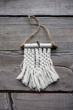 Load image into Gallery viewer, Small pieces of hand woven mini macrame locally made. #macrame