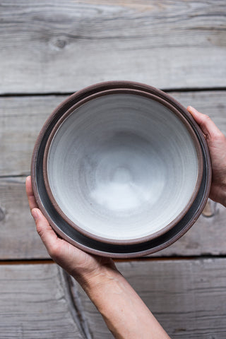 Hand Thrown Ceramic Serving Bowls
