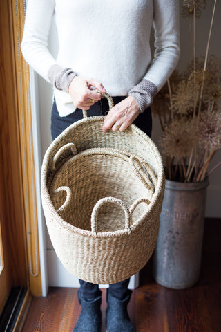 Seagrass Fine Weave Baskets