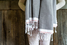 Load image into Gallery viewer, Turkish Towel 100% cotton, hand made, #turkishtowels | www.bowlandpitcher.com