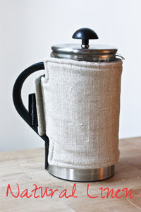 French Press Coffee Cozy | www.bowlandpitcher.com