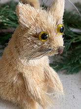 Load image into Gallery viewer, bottle brush animals, christmas, ornaments #bottlebrush #christmas www.bowlandpitcher.com