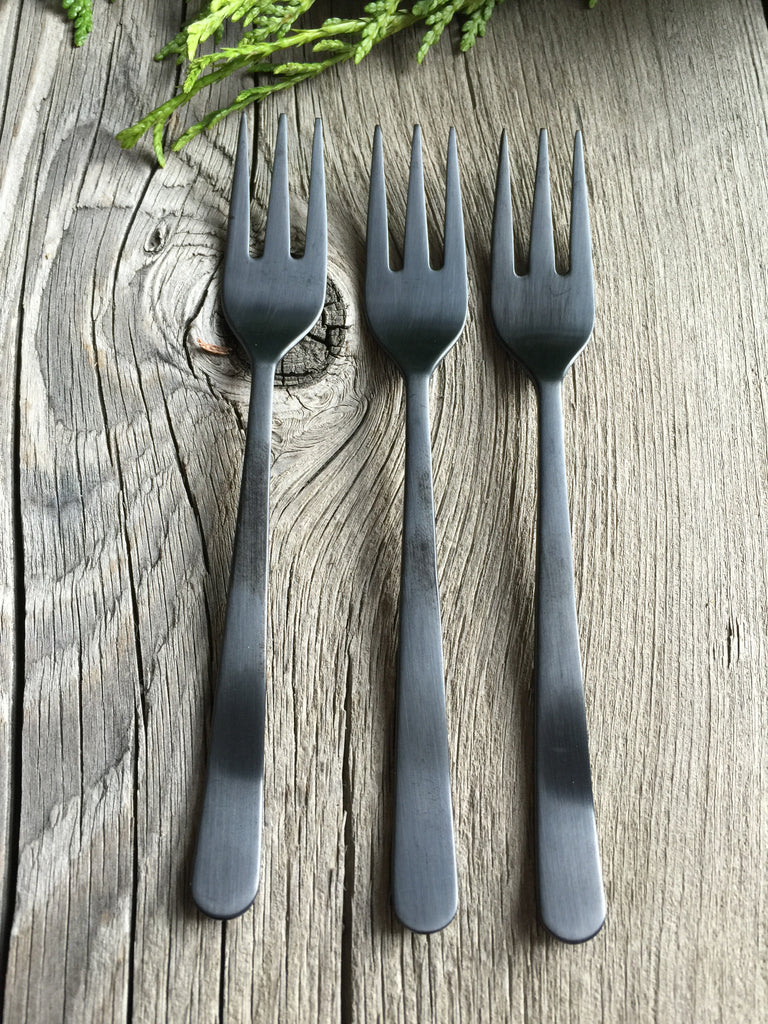 Black Cocktail Fork | www.bowlandpitcher.com