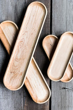Load image into Gallery viewer, appetizer tray, Maple wood serving trays | www.bowlandpitcher.com #servingtray #boards