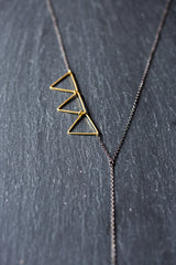 brass necklace|www.BowlandPitcher.com