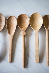 small beechwood spoons www.bowlandpitcher.com
