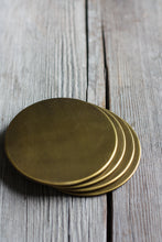 Load image into Gallery viewer, Brass Coasters || BowlandPitcher.com