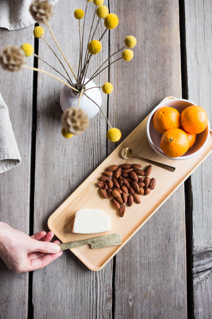 Maple Appetizer Plate #Servingboard #appetizerplate # board #cheeseplate #cheeseboard #partyplatter