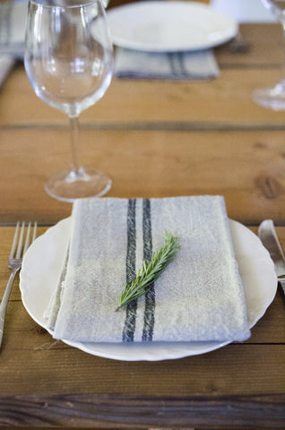 Vintage Linen Napkins (Set of 4)