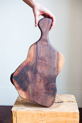 www.BowlandPitcher.com || Beautiful Black Walnut Board